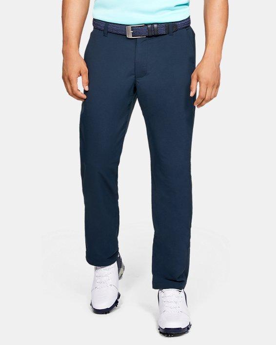 Men's UA EU Performance Pants, Navy, pdpMainDesktop image number 0