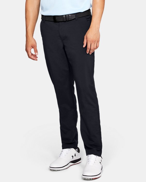 Pantalon UA EU Performance Taper pour homme, Black, pdpMainDesktop image number 0