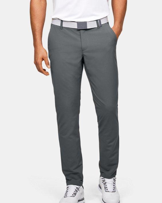 Men's UA EU Performance Taper Pants, Gray, pdpMainDesktop image number 0