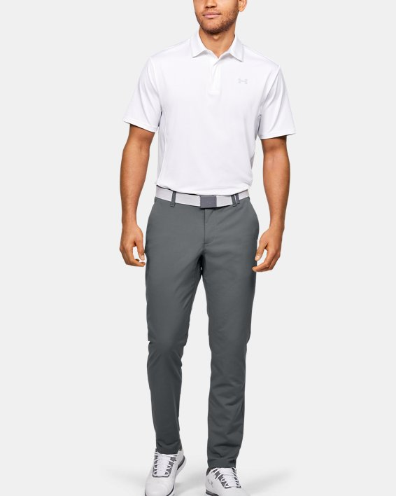 Men's UA EU Performance Taper Pants, Gray, pdpMainDesktop image number 3