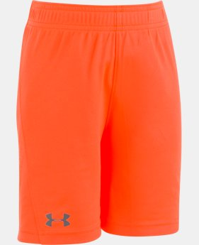 Boys' Pre-School UA Kick Off Short   4  Colors Available $18