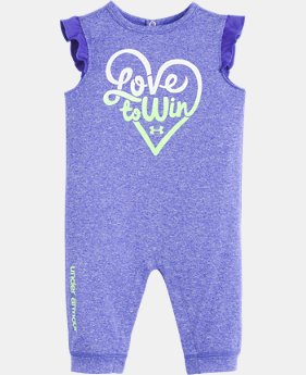 Girls' Infant UA Love To Win Coverall  1  Color Available $23