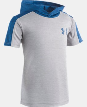 Boys' Toddler UA Tech™ Mesh T-Shirt Hoodie   1  Color Available $33