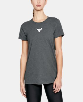 Women's UA x Project Rock Mini Bull T-Shirt  1  Color Available $34.99