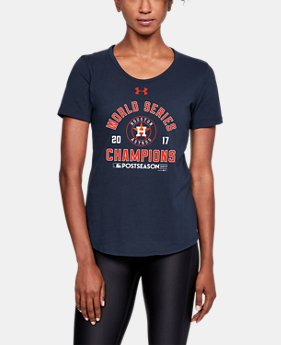 New Arrival Women's Houston Astros World Series Champs T-Shirt  1 Color $34.99