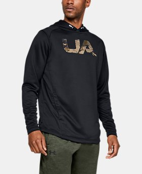 New Arrival Men's UA Tech Terry Camo Fill Hoodie  1  Color Available $55