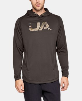 Men's UA Tech Terry Camo Fill Hoodie  3  Colors Available $55