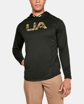 Men's UA Tech Terry Camo Fill Hoodie  1  Color Available $55