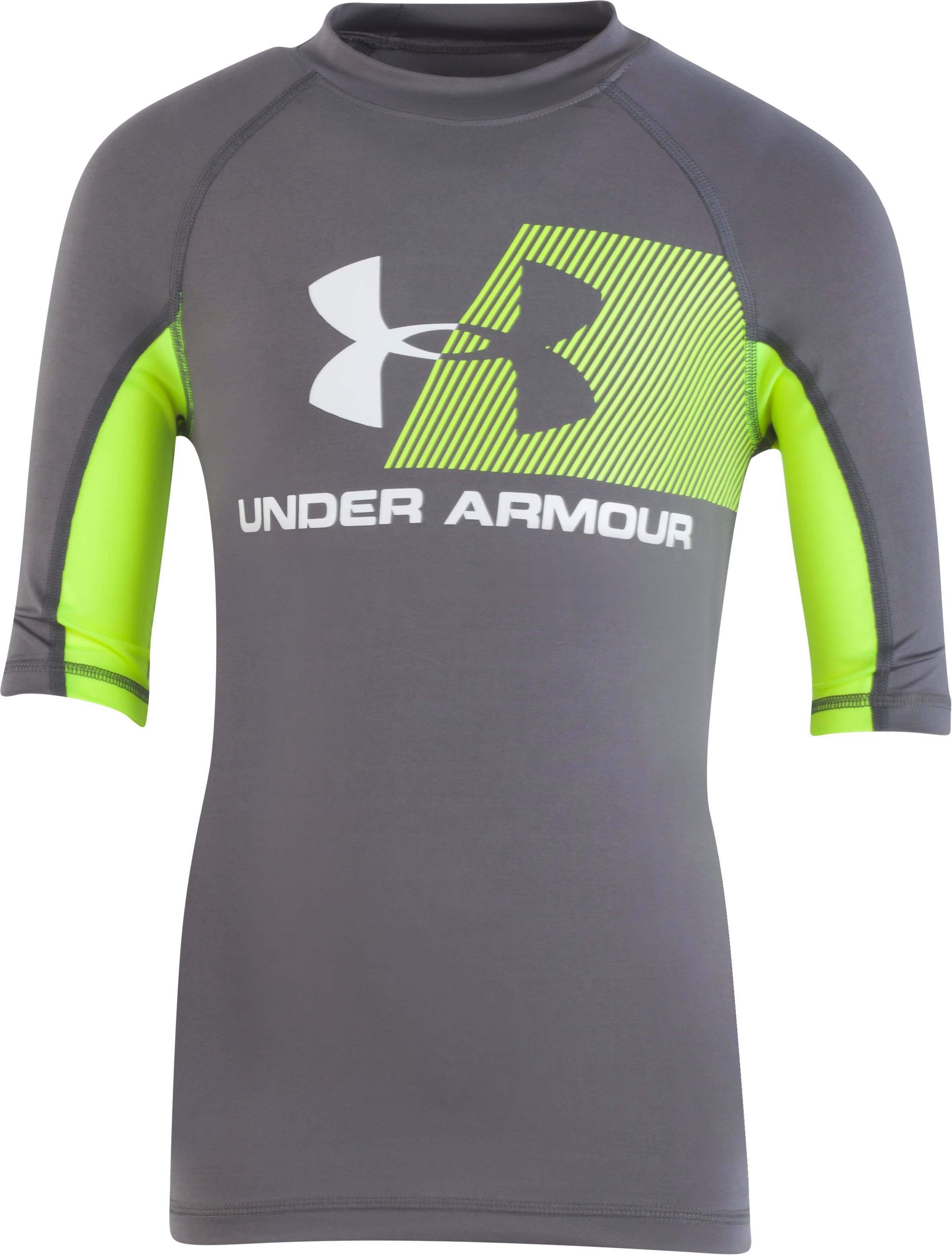 Boys' Toddler UA H2O Reveal Short Sleeve Rashguard 2 Colors $27.00