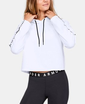 New Arrival Women's UA Microthread Fleece Hoodie  1  Color Available $60