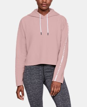 Women's UA Microthread Fleece Hoodie LIMITED TIME ONLY 1  Color Available $39.99