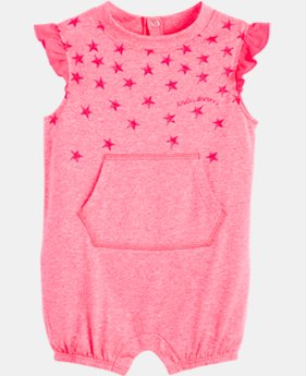 Girls' Infant UA Starry Shortall  FREE U.S. SHIPPING 1  Color Available $22