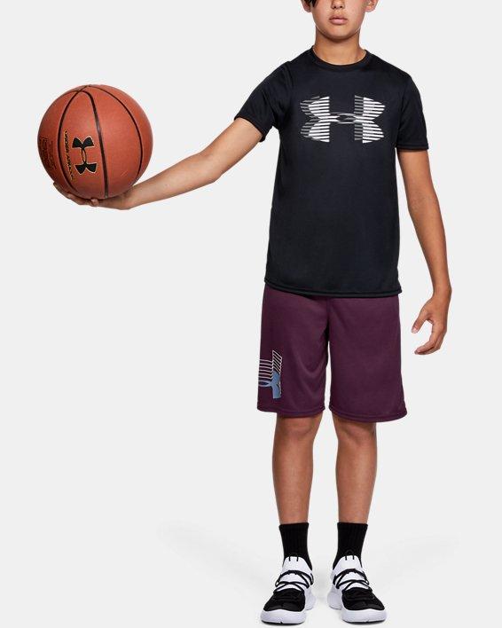 T-shirt uni UA Tech™ Big Logo pour garçon, Black, pdpMainDesktop image number 0