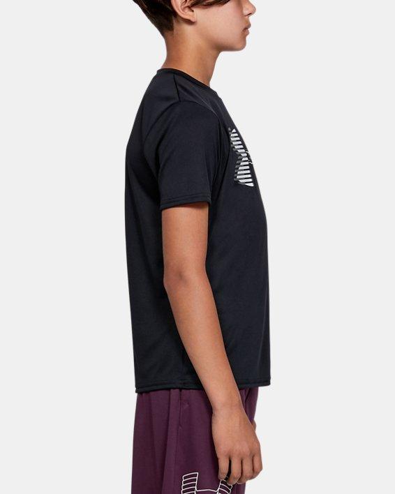 T-shirt uni UA Tech™ Big Logo pour garçon, Black, pdpMainDesktop image number 3