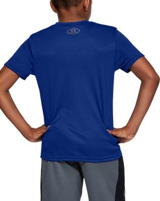 Under Armour Boys/' Big Logo Short Sleeve Tee Shirt 6 Colors