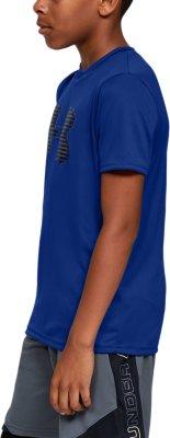 Under Armour Jungen Tech Big Logo Solid Kurzarmshirt