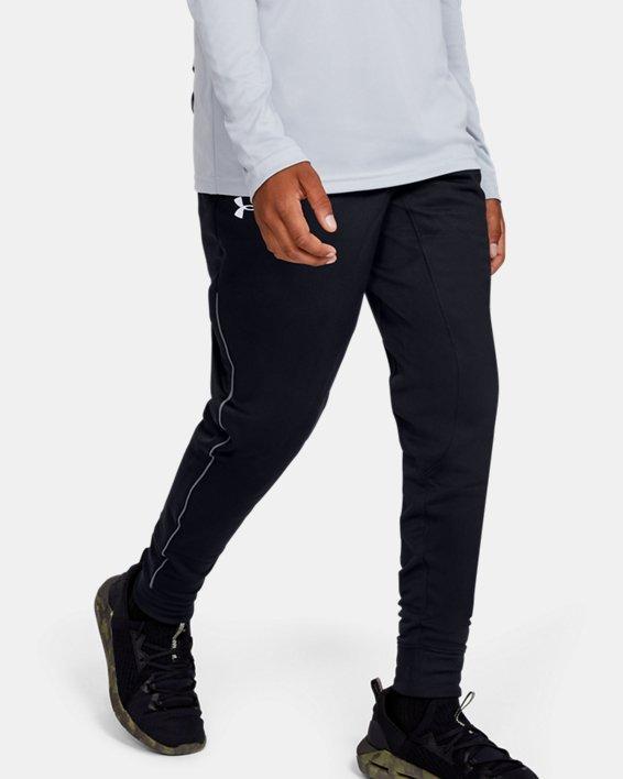 Boys' UA Pennant Tapered Pants, Black, pdpMainDesktop image number 0