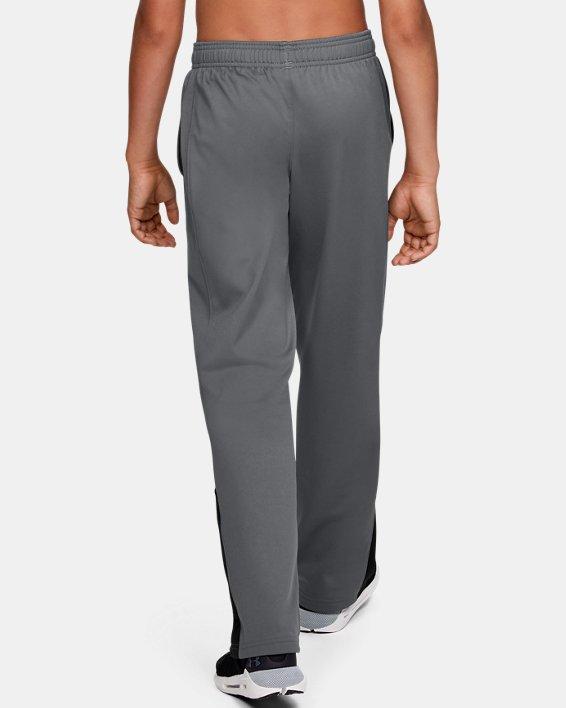 Boys' UA Brawler 2.0 Pants, Gray, pdpMainDesktop image number 2