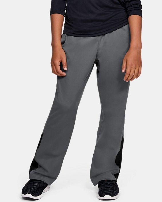 Boys' UA Brawler 2.0 Pants, Gray, pdpMainDesktop image number 0