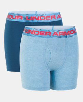 5ca6c69d77e Boys' Charged Cotton® Stretch Boxerjock® 2-Pack 2 Colors Available $14.99 to