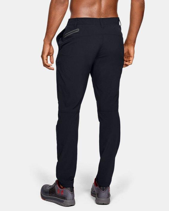 Men's UA Fusion Pants, Black, pdpMainDesktop image number 2