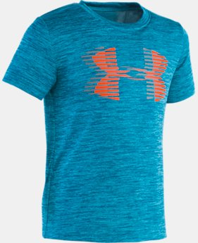 Boys' Pre-School UA Twist Big Logo Short Sleeve  1  Color Available $20