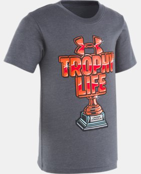 New Arrival Boys' Toddler UA Trophy Life Short Sleeve  1  Color Available $18
