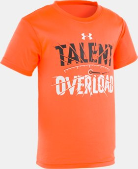 Boys' Pre-School UA Talent Overload Short Sleeve Shirt  1  Color Available $18