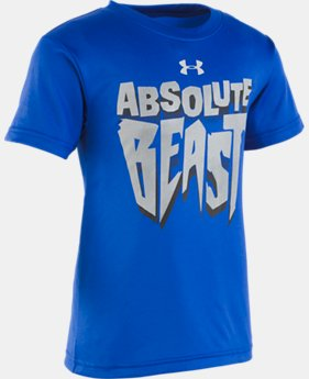 Boys' Pre-School UA Absolute Beast Short Sleeve  1  Color Available $18