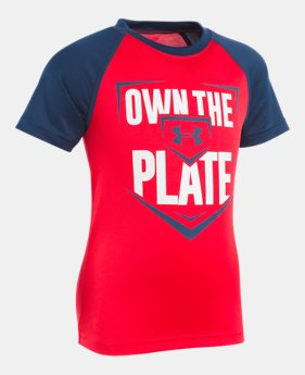 5a9debf1d99e Boys  Pre-School UA Own The Plate Raglan 1 Color Available  22