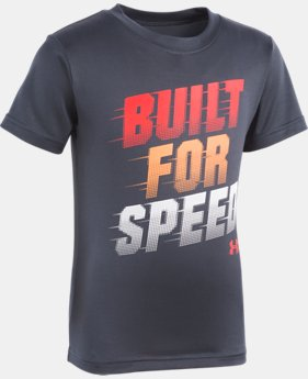 Boys' Toddler UA Built For Speed Short Sleeve  1  Color Available $18