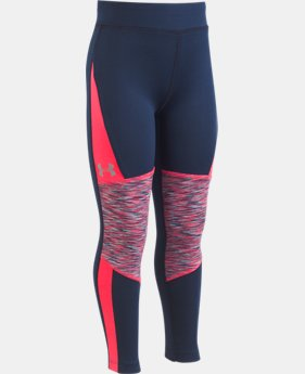 New Arrival Girls' Pre-School UA Designer's Choice Leggings  1  Color Available $32