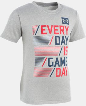 Boys' Toddler UA Every Day Is Game Day Short Sleeve  1  Color Available $18