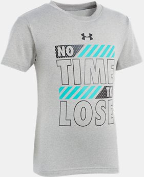 New Arrival Boys' Toddler UA No Time To Lose Short Sleeve FREE U.S. SHIPPING 1  Color Available $18