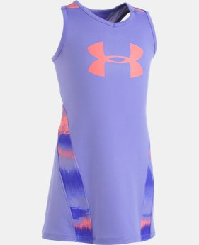 New Arrival Girls' Pre-School UA Pivot Dress   1  Color Available $32