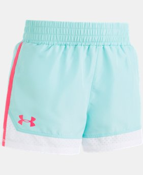 Girls' Pre-School UA Sprint Shorts  1  Color Available $20