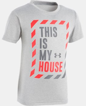 Boys' Toddler UA This Is My House Short Sleeve  1  Color Available $18