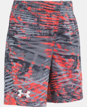 New Arrival Boys' Pre-School UA Vertigo Stunt Shorts  1  Color Available $22