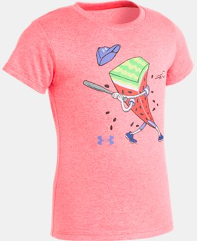 Girls' Pre-School UA Watch Your Melon Short Sleeve  1  Color Available $18