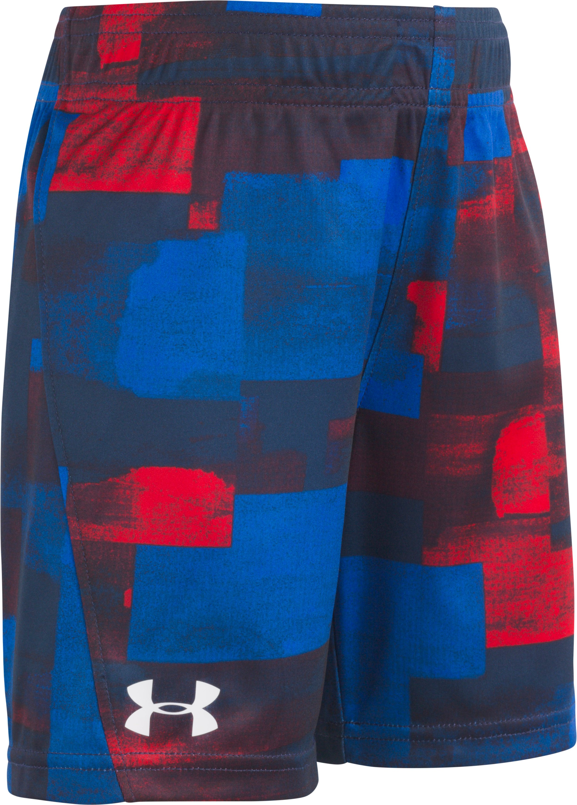 Boys' Toddler UA Water Box Boost Shorts, Academy, zoomed