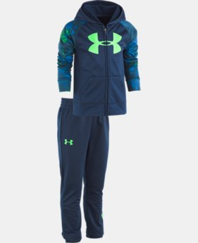 Boys' Pre-School UA Bedrock Camo Track Set  2  Colors Available $46