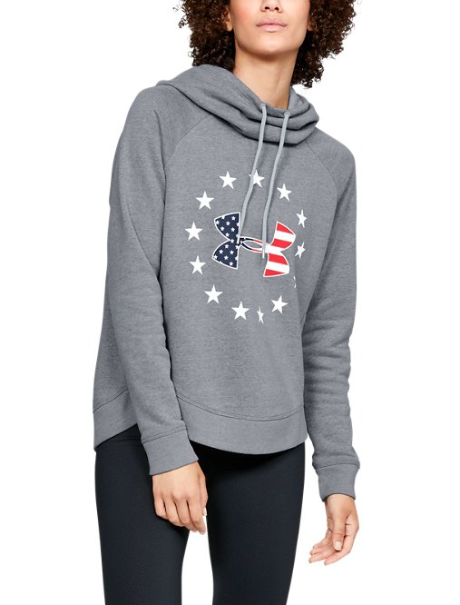 5aecf973e5898 This review is fromWomen's UA Freedom Logo Favorite Hoodie.