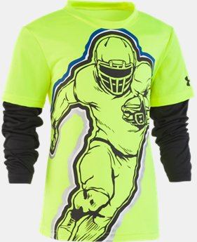 New Arrival Boys' Toddler UA Football Hero Slider  1  Color Available $28
