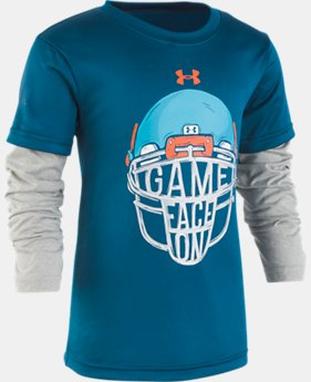 Boys' Pre-School UA Game Face Slider  1  Color Available $28
