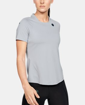 32933929 Women's UA RUSH™ Short Sleeve 1 Color Available $50