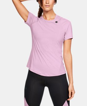 151030dd Women's UA RUSH™ Short Sleeve 6 Colors Available $50