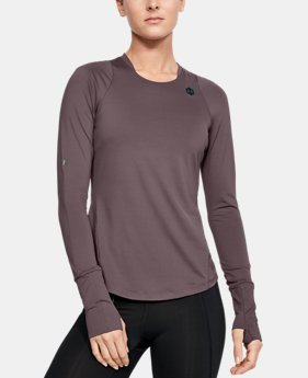 36cd7430 Women's UA RUSH™ Long Sleeve 3 Colors Available $70