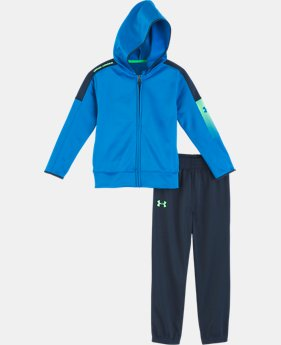 New Arrival Boys' Infant UA Lit Up Track Set   2  Colors Available $44