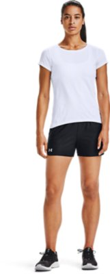 New Under Armour UA Women/'s Play Up 2.0 Novelty Sports Shorts