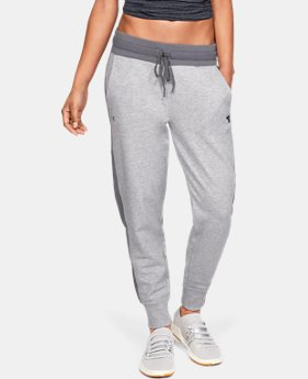 New Arrival  Women's UA x Project Rock Double Knit Pants  2  Colors Available $100
